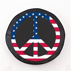 USA Peace Sign Tire Cover, Style 1