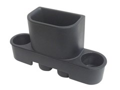 VDP Trash Can with Cup Holders for 07-10 Jeep Wrangler & Wrangler Unlimited JK