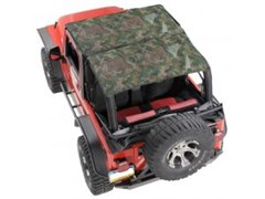 KoolBreez Sun Screen Jeep Full-Length Summer Top - Camouflage