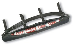 6 Can Cooler / Storage Tube,  Attaches to Roll Bar