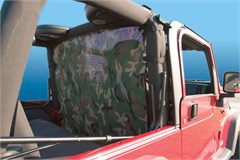 WindStopper Jeep Wind Screen, Camouflage, Fits '80-'96 Jeep CJ, YJ, TJ