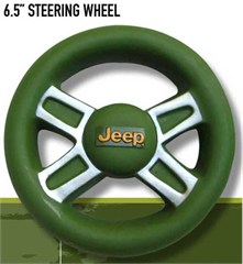 Jeep Dog Toy - Squeaky Vinyl Steering Wheel