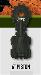 Jeep Dog Toys - Extra Tough Rubber Piston