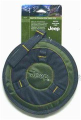 Jeep Ruff'n Tough Flying Disk Dog Toy, 8.5in.