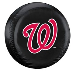 Washington Nationals MLB Tire Cover - Black Vinyl