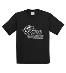 Where's Your Playground? Cherokee Youth Short Sleeved Shirt (Multiple Colors)