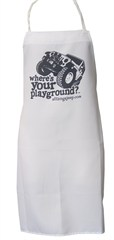 """Where's Your Playground?"" Jeep Wrangler JK Grilling Apron"