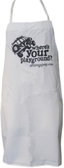 """Where's Your Playground?"" Jeep Wrangler XJ Grilling Apron"