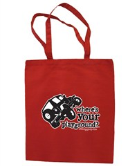 """Where's Your Playground?"" - Wrangler Canvas Tote by All Things Jeep"