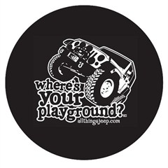 Where's Your Playground? JK Tire Cover