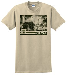 """Willys"" Unisex Short Sleeved Shirt"