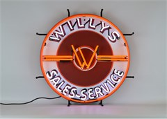 All Things Jeep Willys Sales Service Jeep Neon Sign #0: willys sales service jeep neon sign