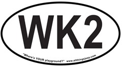 "WK2 Oval ""Euro"" Sticker for your 2011-present Jeep Grand Cherokee"