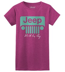 It's a Jeep Thing Women's Tee, Berry