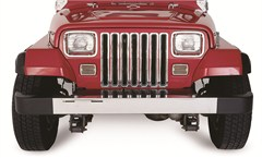 Chrome Grille Inserts from Rampage Products for Jeep Wrangler YJ (1987-1995)