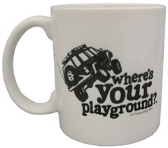 XJ Cherokee Where's Your Playground? Coffee Mug