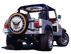 US Navy Spare Tire Cover