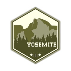 Yosemite National Park Decal
