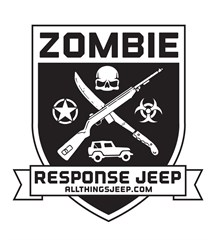 All Things Jeep Zombie Response Jeep Decal - Custom windo decals for jeeps